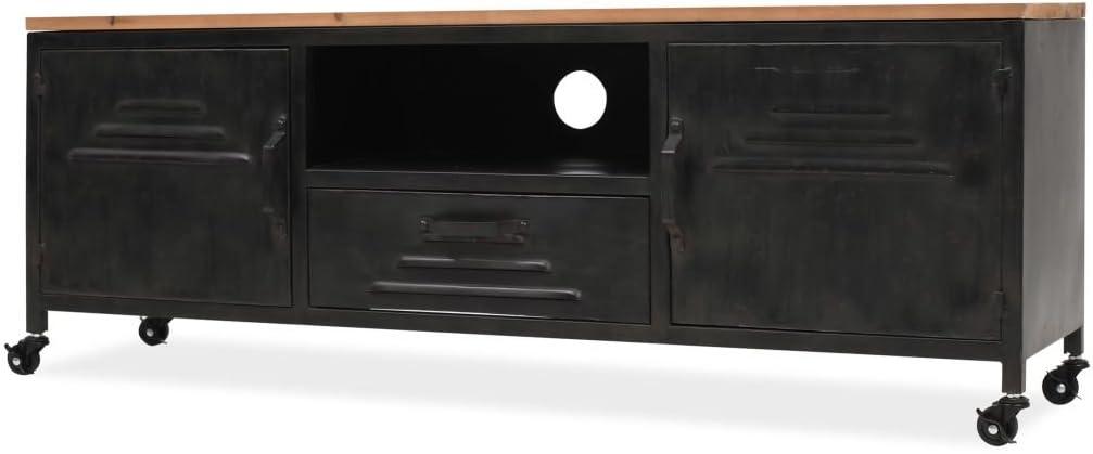 yorten Mueble para la Televisión Equipo de HiFi TV 120x30x43 cm ...