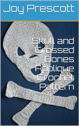 Skull and Crossed Bones Applique Crochet Pattern - Bone Applique