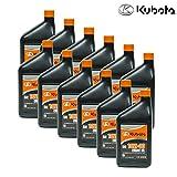 kubota motor oil - Kubota 12PK Genuine OEM SAE 10W-30 Engine Oil 70000-10200