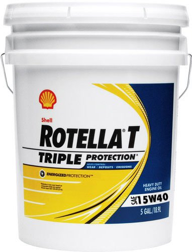From Usa Shell Rotella 550019916 T Triple Protection 15w