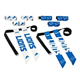 Franklin Sports NFL Detroit Lions Youth Flag Football Set