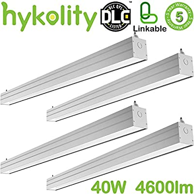 Hykolity 4ft 40W Linkable LED Architectural Ceiling Light