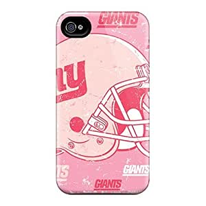 Case For Iphone 4/4S Cover Fashion Design New York Giants Case-jOR1037Noew