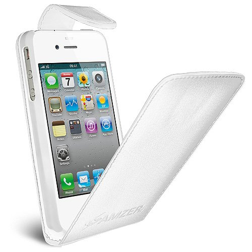 Case for ATT iPhone 4S and Sprint iPhone 4 - 1 Pack - Retail Packaging - White ()