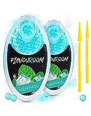 Flavouroom - Premium menthol capsules 200-delige set | DIY mentholfilter voor onvergetelijke smaak | incl. box voor het bewaren van aromatische click hulzen ballen