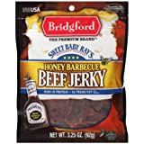 Bridgford Sweet Baby Ray's Honey Barbecue Beef Jerky, 3.25 Oz (Pack of 2)