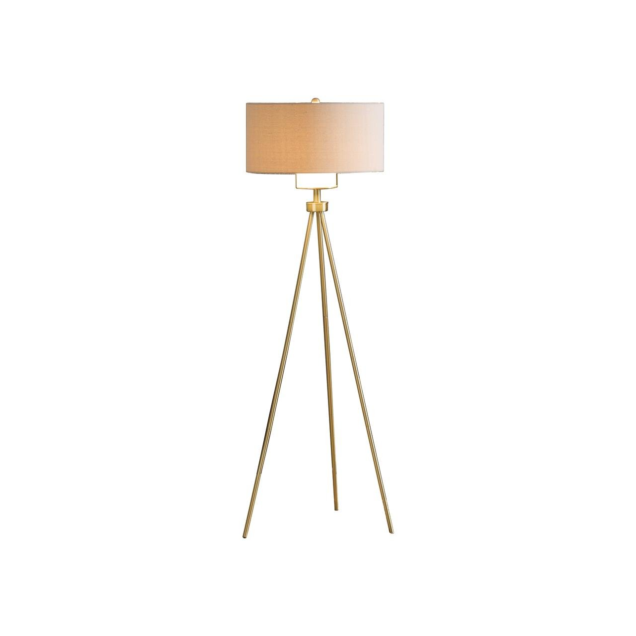 INK+IVY FPF21-0367 Pacific Tripod Floor Lamp, 20 x 20 x 66.25'', Gold