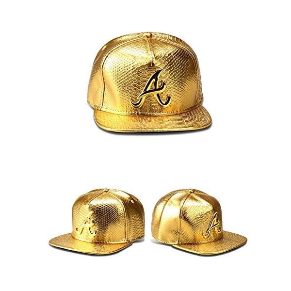 MADY 18K Gold Plated VIP/A/Dollar Grain Baseball Cap Men Women Adjustable Strapback 2