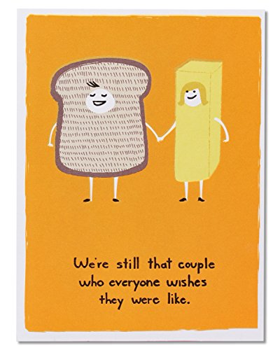 American Greetings Funny Bread and Butter Anniversary Card - 5856661