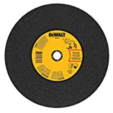 DEWALT DWA8011 Gen. Purpose Chop Saw Wheel, 14-Inch X 7/64-Inch X 1-Inch