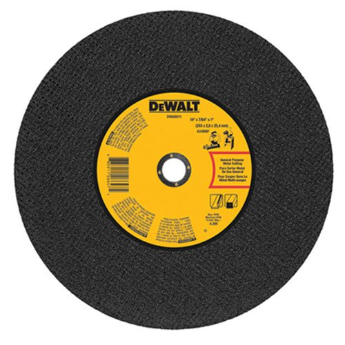 For Sale! DEWALT DWA8011 Gen. Purpose Chop Saw Wheel, 14-Inch X 7/64-Inch X 1-Inch