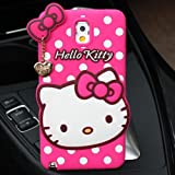 Delkart Nice Kitty Cover for Samsung Galaxy Note 3 (Pink)