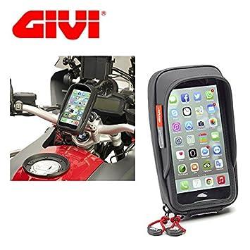SOPORTE SMARTPHONE PARA BICICLETTA PARA IPHONE 6 PLUS PARA MOTO Y BICICLETA S957B GIVI: Amazon.es: Coche y moto
