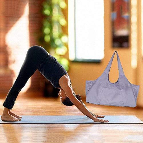 EUYOUZI Zip Yoga Mat Bag Large, Yoga Mat Tote Bag with Yoga ...