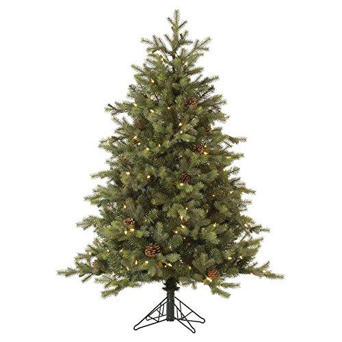 Vickerman-6-Rocky-Mountain-Fir-EZ-Plug-Artificial-Christmas-Tree-with-400-Warm-White-LED-lights