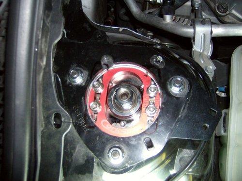 CORKSPORT 2007-2013 Mazdaspeed 3, 2004-2013 Mazda 3 - Camber Plates - Black  (Axl-3-303-10)