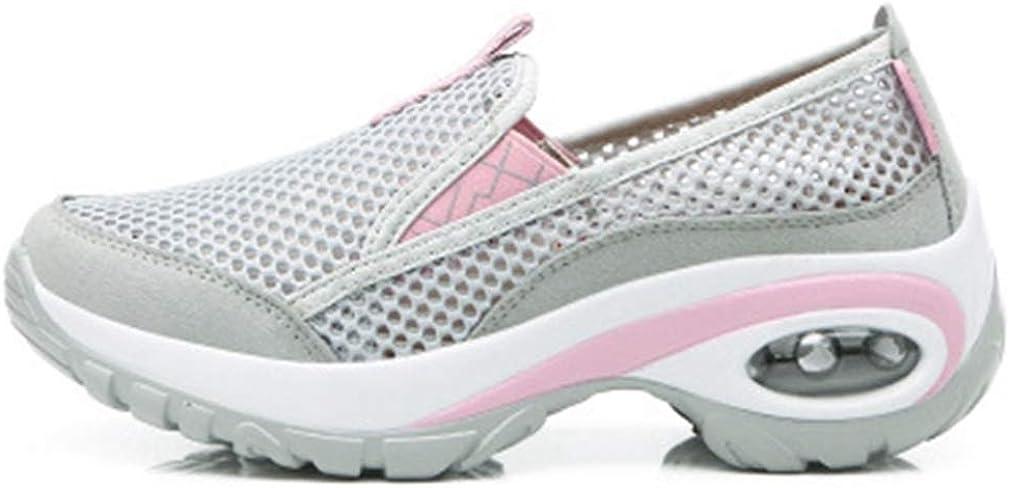 Women s Lightweight Mesh Walking Hiking Shoes Outdoor Running Trail Hiker Non-Slip Backpacking Shoe