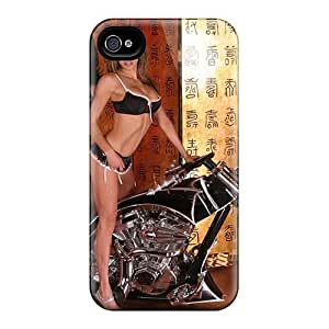 SWHske Slim Fit Tpu Protector JMooYVB3943oILfx Shock Absorbent Bumper Case For Iphone 4/4s