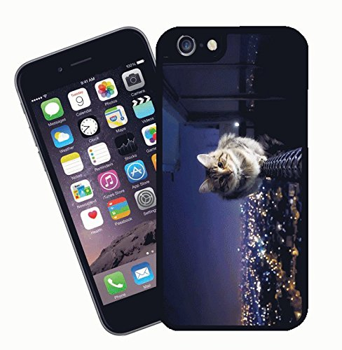 Cassa del telefono di gatto, design 006 - questa copertura si adatta Apple modello iPhone 6s (6s non plus) - di idee regalo di Eclipse