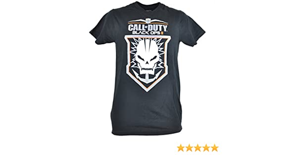 Call of Duty Black Ops II Anchor Skull Icon Action Video Game Tshirt Tee