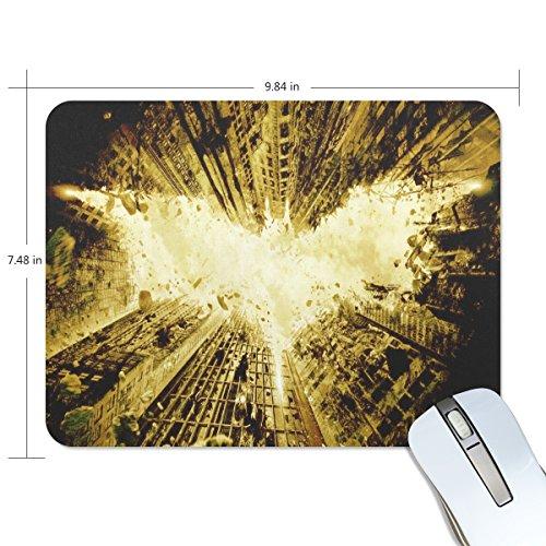 Mabel D. Silva Bat Mouse Pad Gold Game Office Thicker Mouse Pad Decorated Mouse Pad (gold)