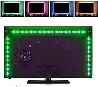 LED Strip LED de TV de fondo, LED TV iluminación tira LED LED Strip 2 m (