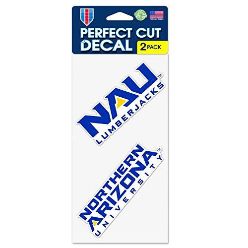 WinCraft Northern Arizona University Lumberjacks Set of 2 Die Cut Decals (4