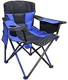 Caravan Sports EQC01021 Elite Quad Chair, True Blue For Sale