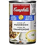 Campbell's 40% Less Sodium Cream Of Mushroom Soup, 284ml