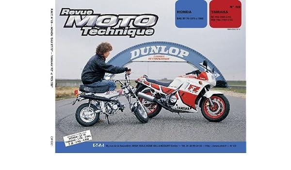 revue technique fzx 750