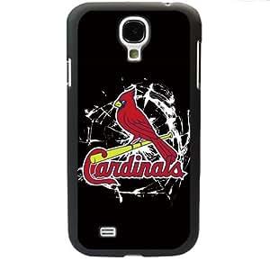 MLB Major League Baseball St. Louis Cardinals Samsung Galaxy S4 SIV I9500 TPU Soft Black or White case (Black)