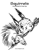 img - for Squirrels Coloring Book for Grown-Ups 1 (Volume 1) book / textbook / text book