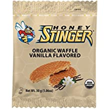 Honey Stinger Organic Waffle, Vanilla Flavored, 1.06 Ounce (Pack of 16)