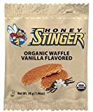 Honey Stinger Organic Waffle, Vanilla, 1.06 Ounce (Pack of 16)