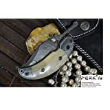 Custom Damascus Handmade Folding Knife - Beautiful Pocket Knife