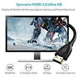 Syncwire HDMI Cable 6.5 ft HDMI 2.0