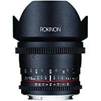 Rokinon DS10M-NEX 10mm T3.1 Cine Wide Angle Lens for Sony Alpha E-Mount Interchangeable Lens Cameras