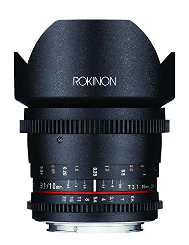 Rokinon DS10M-N 10mm T3.1 Cine Wide Angle Lens for Nikon Digital SLR