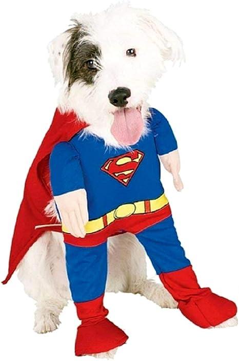 Disfraz de Superhéroe - hombre de acero - perro - mod.2 ...