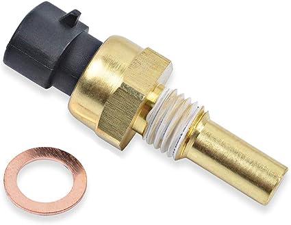 Coolant Water Temp Sensor Temperature Sender For GMC Pontiac Saab Saturn w//Plug