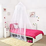 Princess Bed Canopy - Beautiful Silver Sequined
