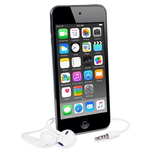 Apple iPod Touch 16GB Space Gray (6th Generation) MKH62LL/A (Certified Refurbished)