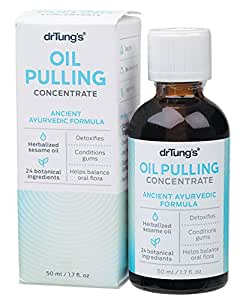 DR TUNGS Oil Pulling Concentrate, 1.7 Fluid Ounce