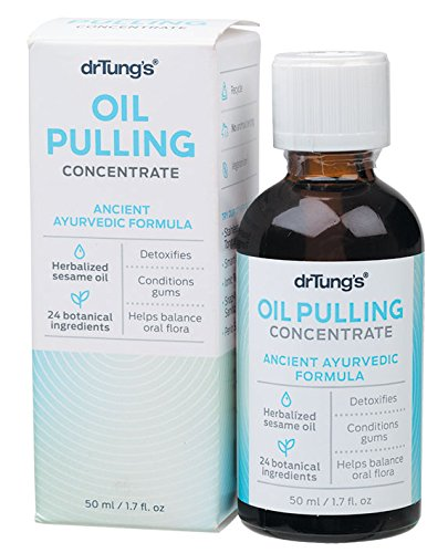 Price comparison product image DR TUNGS Oil Pulling Concentrate,  1.7 Fluid Ounce