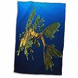 3dRose VWPics Oceans - Leafy Sea Dragon - Phycodurus eques - in Esperance, Western Australia - 15x22 Hand Towel (twl_46260_1)
