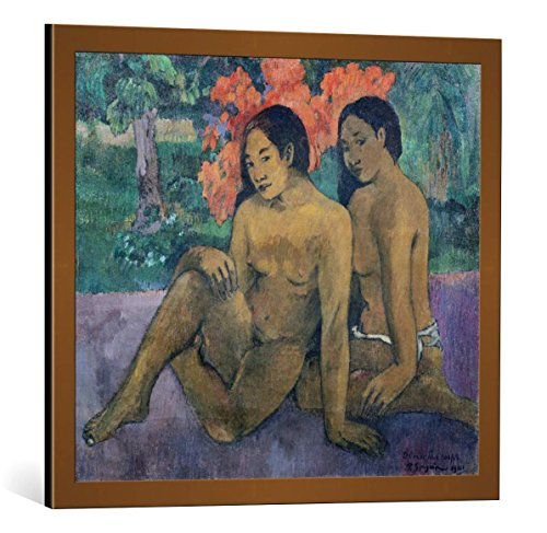 kunst für alle Framed Art Print: Paul Gauguin and The Gold of Their Bodies 1901
