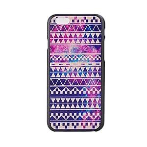 LANcase 3D Painting Plastic Hard Case Cover for iPhone 6 Retro Purple Aztec tribes