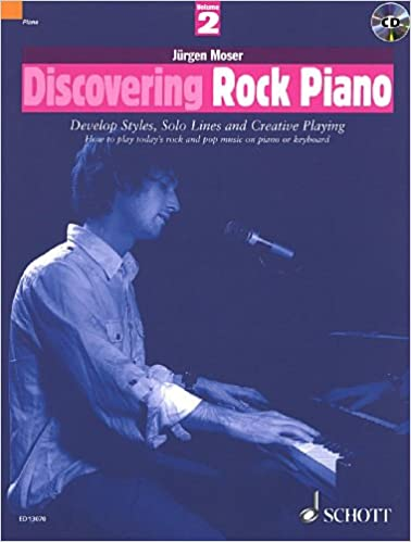 Book Discovering Rock Piano, Volume 2: Develop Styles, Solo Lines And Creative Playing
