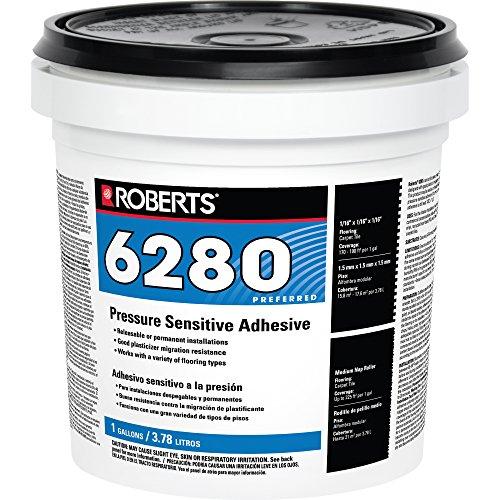 Pressure Sensitive Adhesive, 1 gal, White