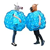 "Geekper Sumo Bumper Balls - Inflatable Body Bubble Ball Bumper Bopper for Kids and Adults 36"" - 2 Balls"
